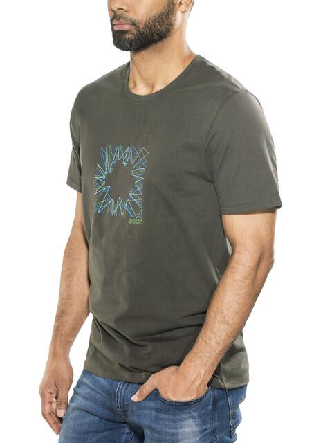 Ocun Dash - T-shirt manches courtes Homme - gris
